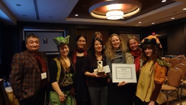 Des honneurs pour l'Éducation sensorielle de Jeunes pousses